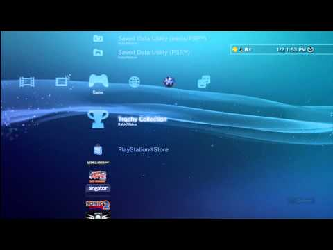 How to Sync Trophies on your PlayStation 3