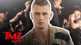 Machine Gun Kelly Fights Another Fan, Staged?! | TMZ TV