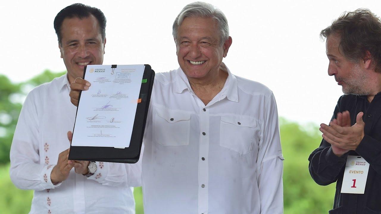 Supervisión de obra Autopista Cardel – Poza Rica, desde Martínez de la Torre, Veracruz