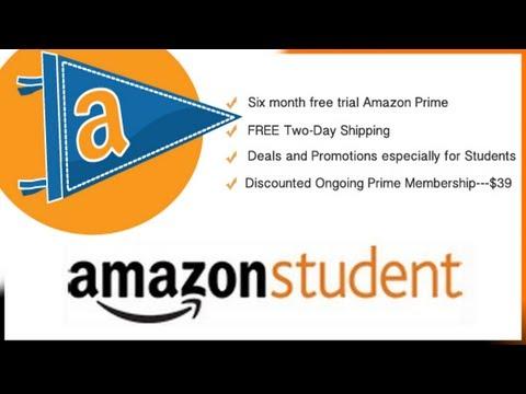 Amazon Student / Prime -- Amazing College Student Program -- Free 6 Month Membership!!