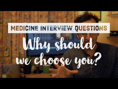 Medicine Interview Questions - How to answer