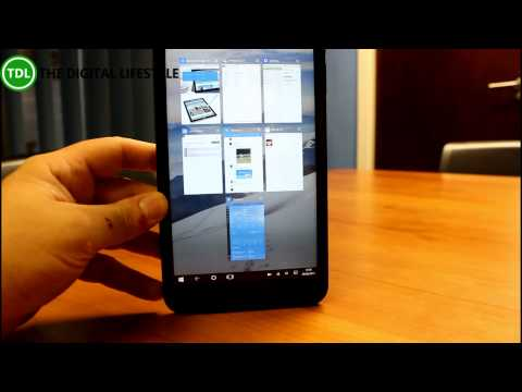 How well does Windows 10 work on a £59 Linx 7 tablet?
