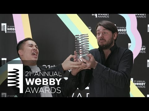 GIPHY's 5-Word Speech at the 21st Annual Webby Awards