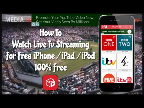 How To Watch Live Tv Streaming For Free iPhone / iPad / iPod iOS 9.3.3 No JB/ PC