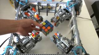 Lego Robot Rubik