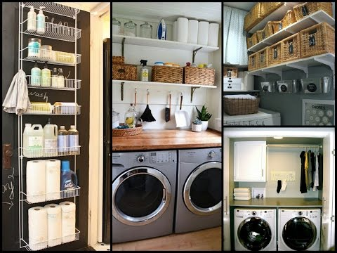 Small Laundry Room Organization Tips - DIY Home Organization Ideas