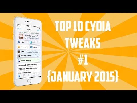 Top 10 Best Cydia Tweaks for iOS 8 [January 2015]