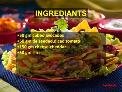 How to make Loaded Nachos with Refried Beans