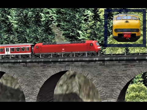 Train Simulator 2017 - BR 145 Freiburg - Titisee 'The Black Forest'