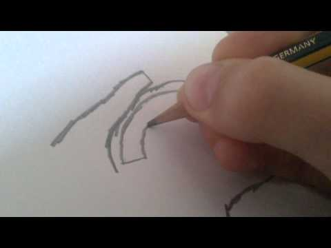 How to draw raygun part-1