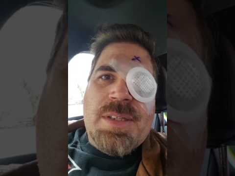 Retina reattachment  blog after surgery with Dr. BURTON, painless  but scarry,  was rushed  in emerg