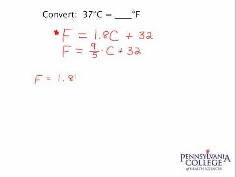 Simple Unit Conversion #2 - Celsius to Fahrenheit