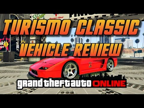 GTA Online[GTA5] New DLC - Grotti Turismo Classic - vehicle review
