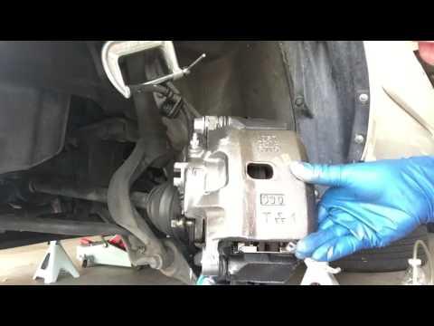 2001 Honda Accord Front Left Brake Caliper Replacement