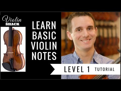 Learn Violin Notes (BASIC Notes) | VIOLIN LESSONS FOR BEGINNERS with Violin Sheet Music Tips