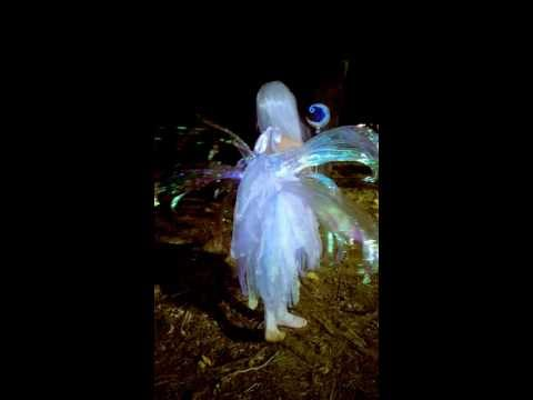 Moon/Lunar Fairy with Moving Wings Handmade Halloween