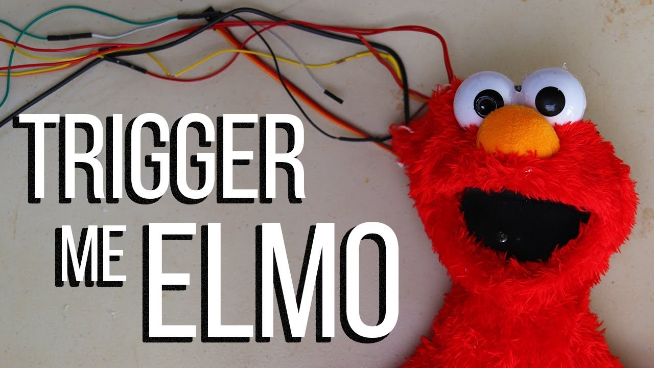 Trigger Me Elmo | World's First Race Detecting Toy