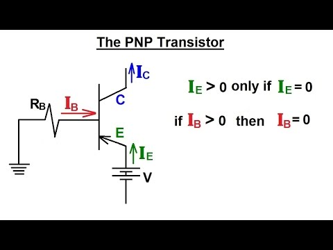 Electrical Engineering: Ch 3: Circuit Analysis (31 of 37) NPN Transistor: Voltage & Base Current