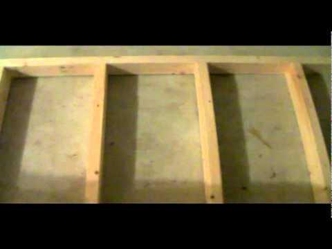 DIY WASHER & DRYER STAND pt4