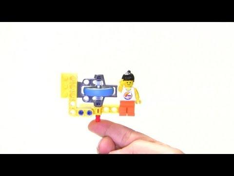 Flywheel and gyroscopic precession : LEGO Technic