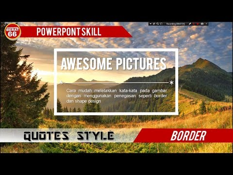 BORDER QUOTES DESIGNS POWERPOINT