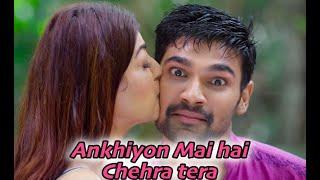 Ankhiyon Me hai Chehra tera Full Song (OFFICIAL SONG) | Sita Ram Movie song | Nijamena Hindi song