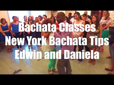 Bachata Classes New York   Bachata Tips Edwin and Daniela