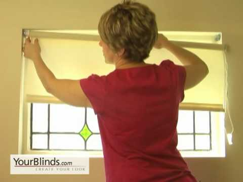 How to Install Roller Shades - Inside Mount  - YourBlinds.com DIY