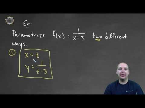 Parametrization - Example 1