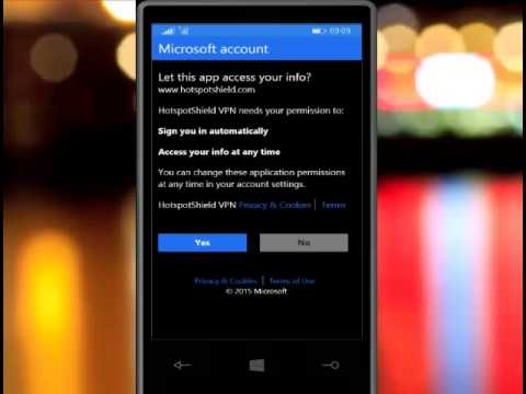 How to  get connected to VPN windowsphone. and browse all websites which are banged or blocked