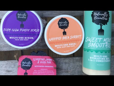 Naturally Boundless Product Review | EiffelCurls