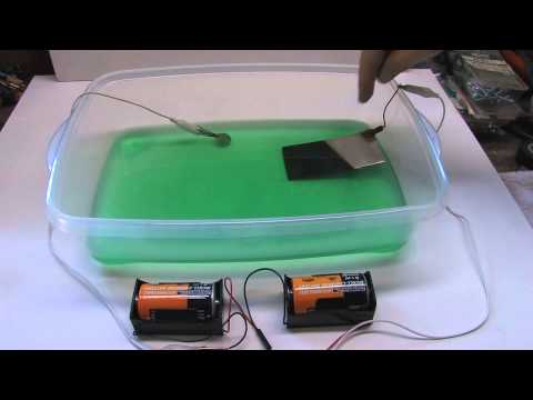 Easy Nickel And Copper Electroplating Method