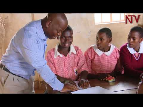 LOOKING BEYOND DISABILITY: Visually impaired Yiga has been a teacher for 18 years