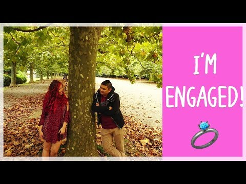 I'm Engaged! || Proposal + Pre-Newlywed Game (High School Sweethearts)