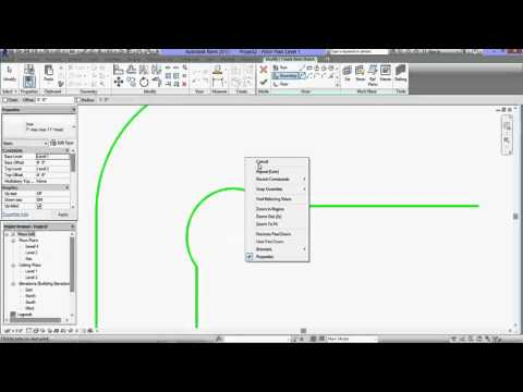 Revit Architecture Tutorial for Beginners-How to create a Stair Sketch