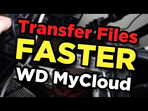 WD MyCloud Slow File Transfers? Use this trick for faster file management.