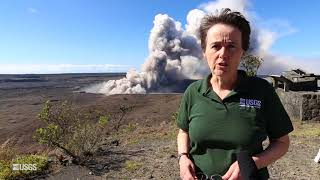 USGS Status Update of Kīlauea Volcano - May 14, 2018