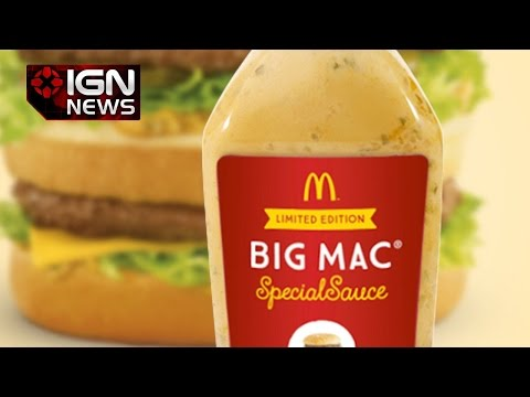 McDonald's Auctioning Big Mac Special Sauce Bottle for $23,000 - IGN News