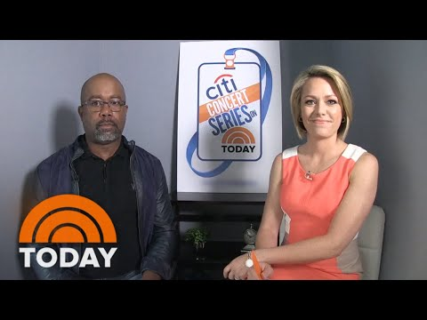 Darius Rucker On Ask The Artist Live! | TODAY