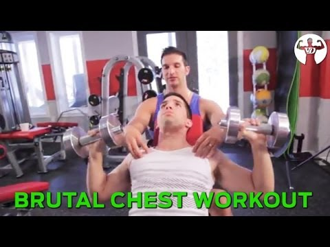 Brutal Chest Workout for Sexy
