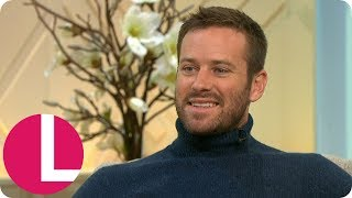 Armie Hammer Says Playing Ruth Bader Ginsburg's Husband Helped Him Be a Better Partner | Lorraine