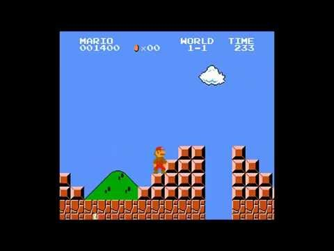 Super Mario Bros How To Jump Over The Flag Pole