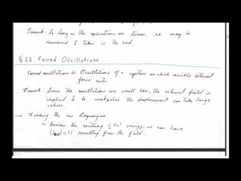 Φ@I Radiation | Session 16 (Ch-5, Small Oscillations)
