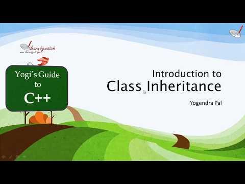 Introduction to Inheritance in C plus plus |  | Yogendra Pal | Hindi / Urdu