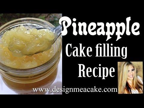 Pineapple Cake Filling