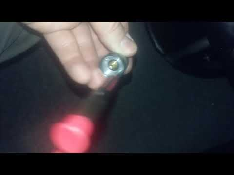 Flashlight Tailcap switch removal