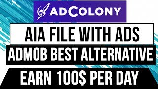 adcolony aia file thunkable earning kese kare turorial - PakVim net