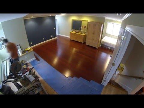 Installing Morning Star Click Bamboo Flooring