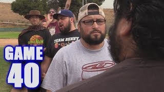 LOSER SHAVES THEIR BEARD & MISSES THE PLAYOFFS! | On-Season Softball League | Game 40