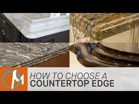 How to Choose an Edge for Your Countertop | Marble.com